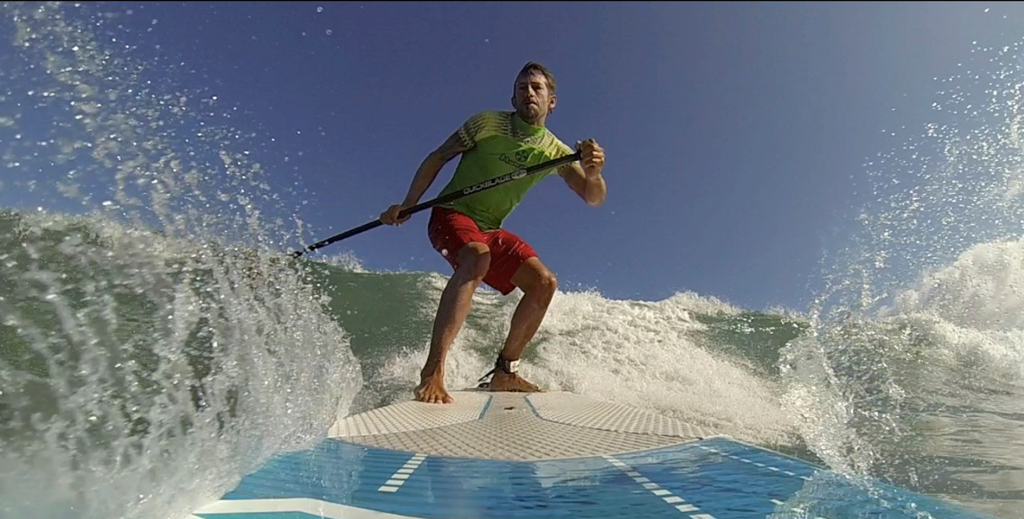 famara Stand Up Paddle board wave