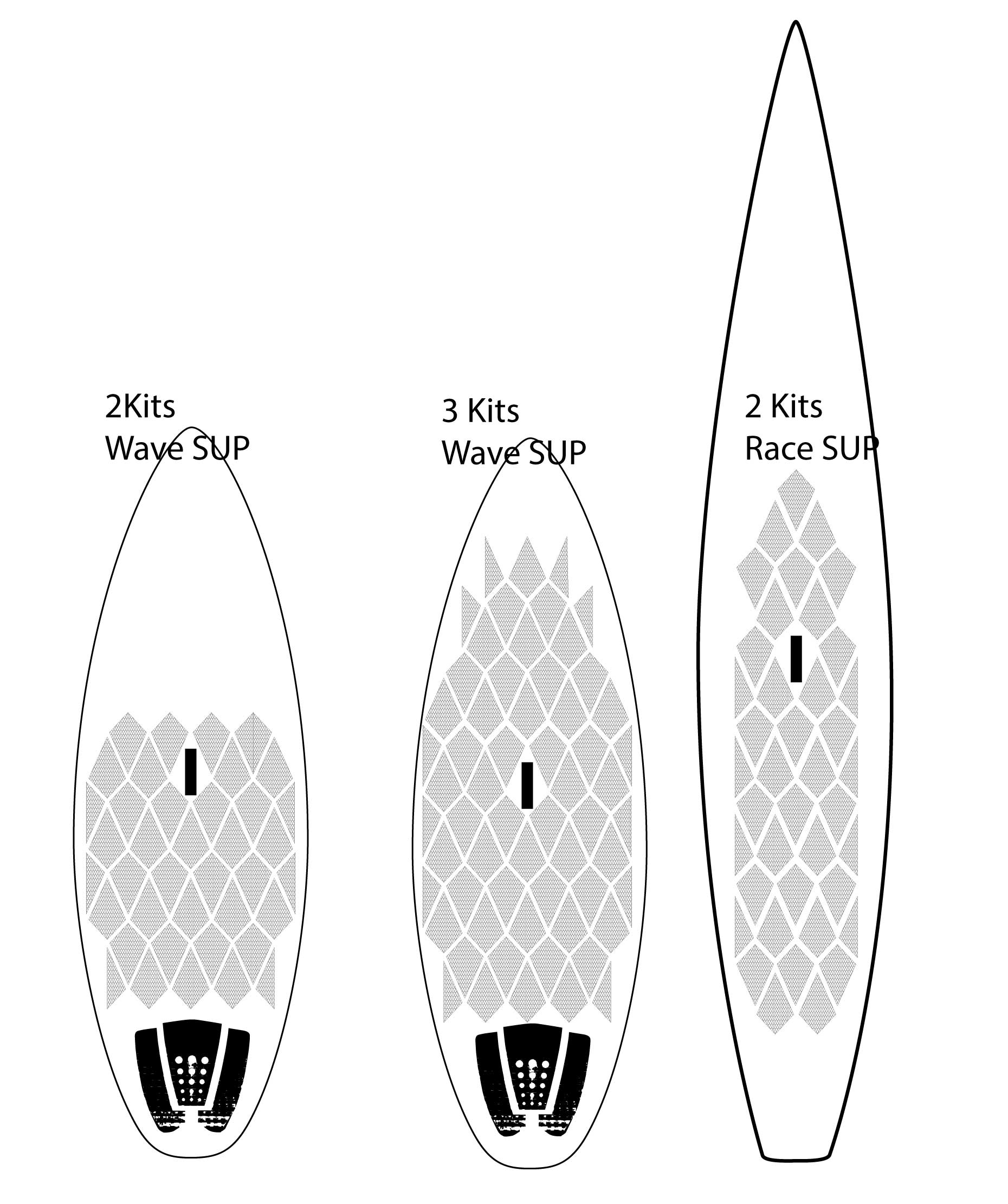 SUP Board and Surfboard Traction Tape